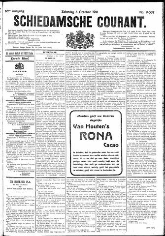 Schiedamsche Courant 1912-10-05