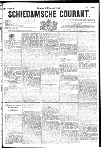 Schiedamsche Courant 1908-02-11