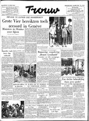 Trouw / De Rotterdammer 1955-07-25