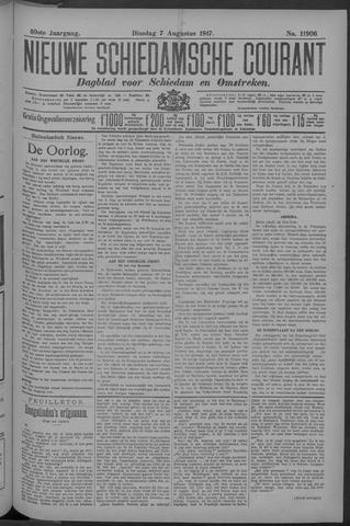 Nieuwe Schiedamsche Courant 1917-08-07