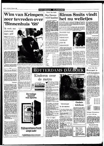 Rotterdamsch Parool / De Schiedammer 1968-02-17