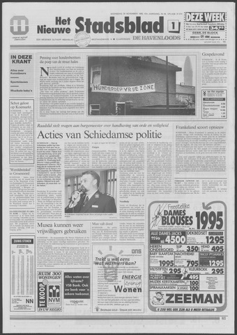 Het Nieuwe Stadsblad 1995-11-29