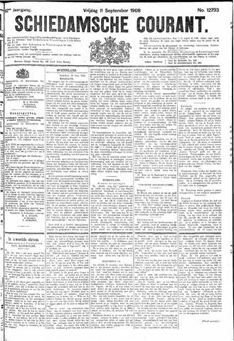 Schiedamsche Courant 1908-09-11