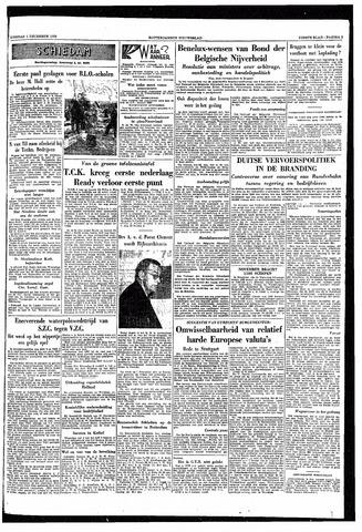 Rotterdamsch Nieuwsblad / Schiedamsche Courant / Rotterdams Dagblad / Waterweg / Algemeen Dagblad 1953-12-01