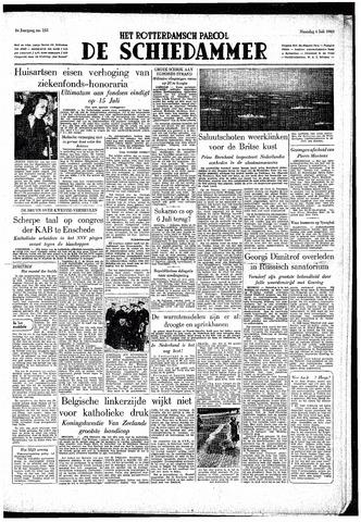 Rotterdamsch Parool / De Schiedammer 1949-07-04