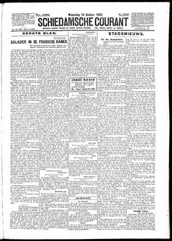 Schiedamsche Courant 1933-10-18