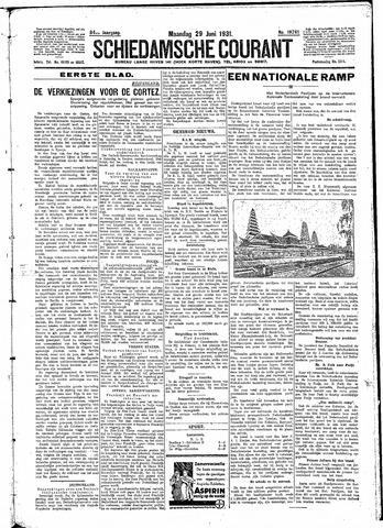 Schiedamsche Courant 1931-06-29