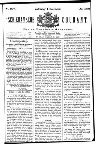 Schiedamsche Courant 1877-12-01