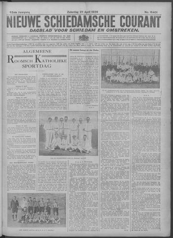 Nieuwe Schiedamsche Courant 1929-04-27