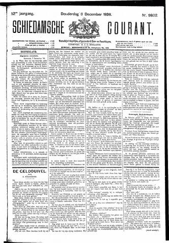 Schiedamsche Courant 1898-12-08