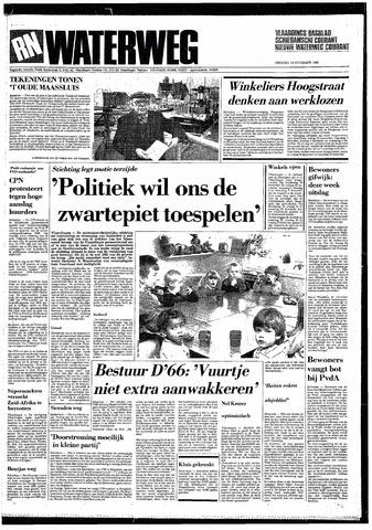 Rotterdamsch Nieuwsblad / Schiedamsche Courant / Rotterdams Dagblad / Waterweg / Algemeen Dagblad 1985-11-19