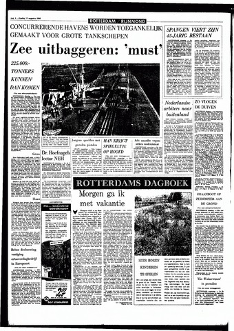 Rotterdamsch Parool / De Schiedammer 1966-08-16