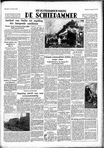 Rotterdamsch Parool / De Schiedammer 1949-01-31