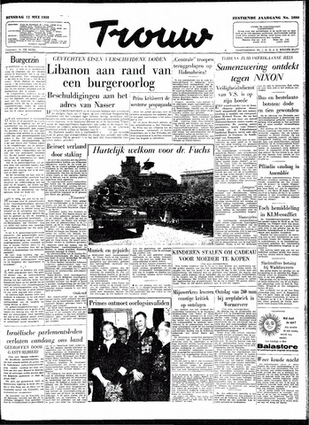 Trouw / De Rotterdammer 1958-05-13