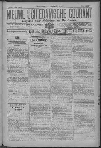 Nieuwe Schiedamsche Courant 1918-08-21