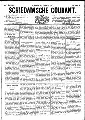Schiedamsche Courant 1910-08-10