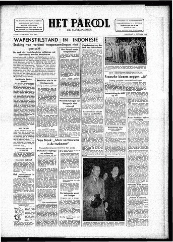 Rotterdamsch Parool / De Schiedammer 1946-10-14