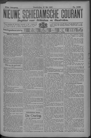 Nieuwe Schiedamsche Courant 1917-05-31