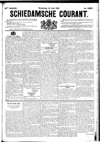 Schiedamsche Courant 1912-04-24