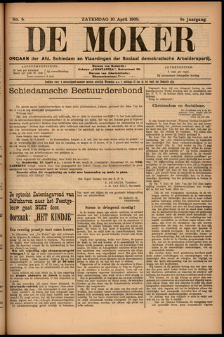 De Moker 1909-04-10