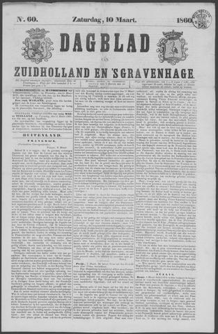Dagblad van Zuid-Holland 1860-03-10