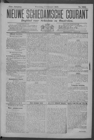Nieuwe Schiedamsche Courant 1909-02-03