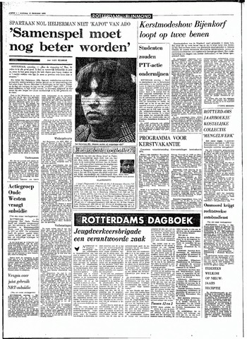 Rotterdamsch Parool / De Schiedammer 1970-12-12