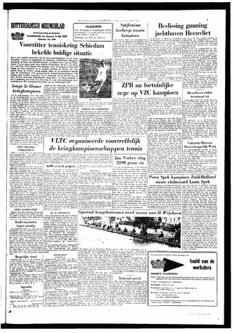Rotterdamsch Nieuwsblad / Schiedamsche Courant / Rotterdams Dagblad / Waterweg / Algemeen Dagblad 1966-07-18