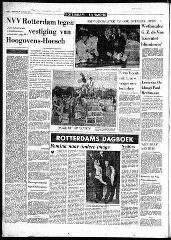 Rotterdamsch Parool / De Schiedammer 1970-09-24