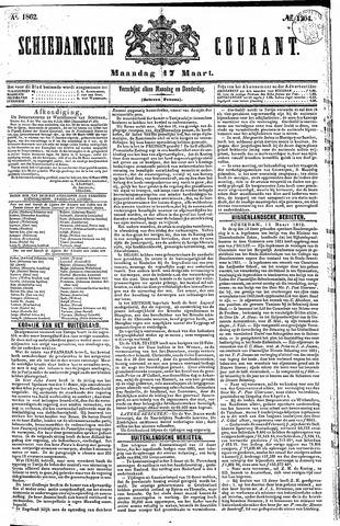 Schiedamsche Courant 1862-03-17