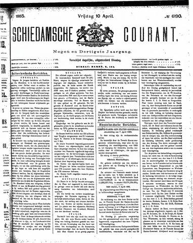Schiedamsche Courant 1885-04-10