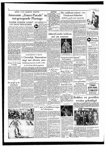 Rotterdamsch Parool / De Schiedammer 1955-08-27