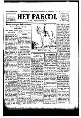 Rotterdamsch Parool / De Schiedammer 1945-09-06