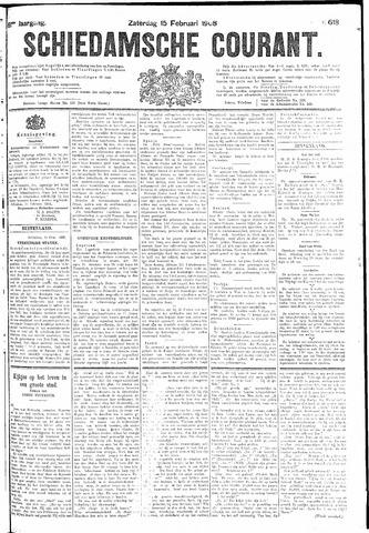 Schiedamsche Courant 1908-02-15