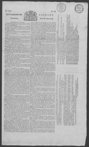 Rotterdamse Courant 1836-01-23