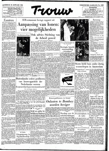 Trouw / De Rotterdammer 1956-01-21