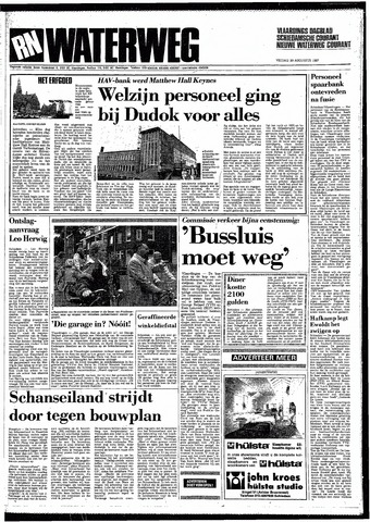 Rotterdamsch Nieuwsblad / Schiedamsche Courant / Rotterdams Dagblad / Waterweg / Algemeen Dagblad 1987-08-28