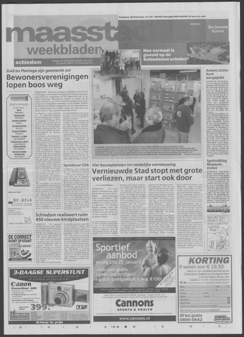 Maaspost / Maasstad / Maasstad Pers 2004-01-21