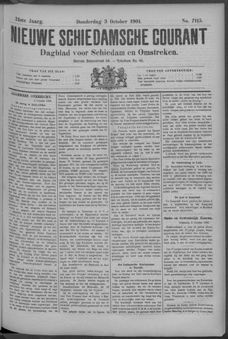 Nieuwe Schiedamsche Courant 1901-10-03
