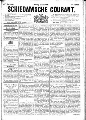 Schiedamsche Courant 1910-07-31