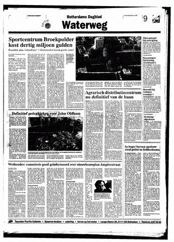 Rotterdamsch Nieuwsblad / Schiedamsche Courant / Rotterdams Dagblad / Waterweg / Algemeen Dagblad 1998-01-08