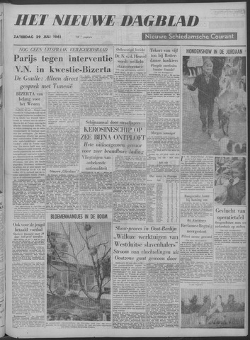 Nieuwe Schiedamsche Courant 1961-07-29