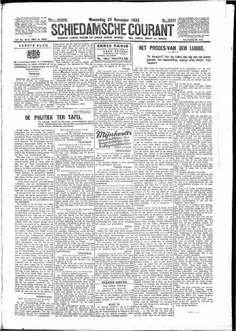 Schiedamsche Courant 1933-11-29