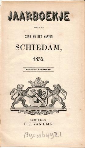 Schiedams Jaarboek 1855-01-01