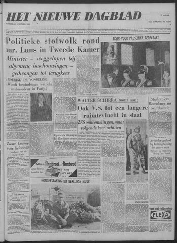 Nieuwe Schiedamsche Courant 1962-10-04