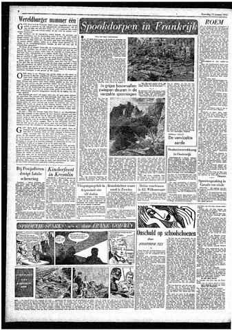 Rotterdamsch Parool / De Schiedammer 1957-01-12