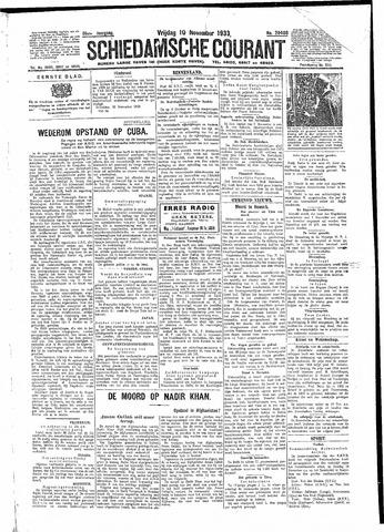 Schiedamsche Courant 1933-11-10