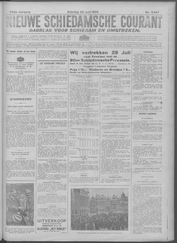Nieuwe Schiedamsche Courant 1929-06-22