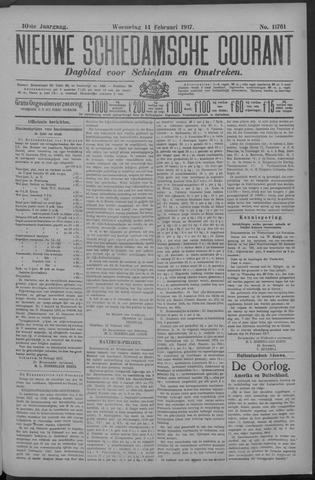 Nieuwe Schiedamsche Courant 1917-02-14