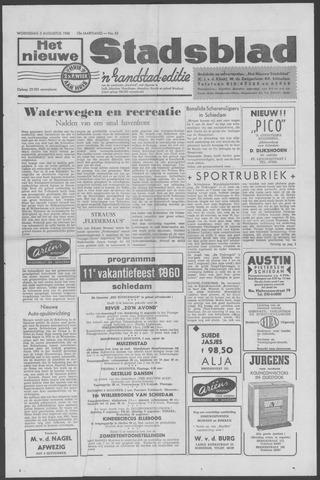 Het Nieuwe Stadsblad 1960-08-03